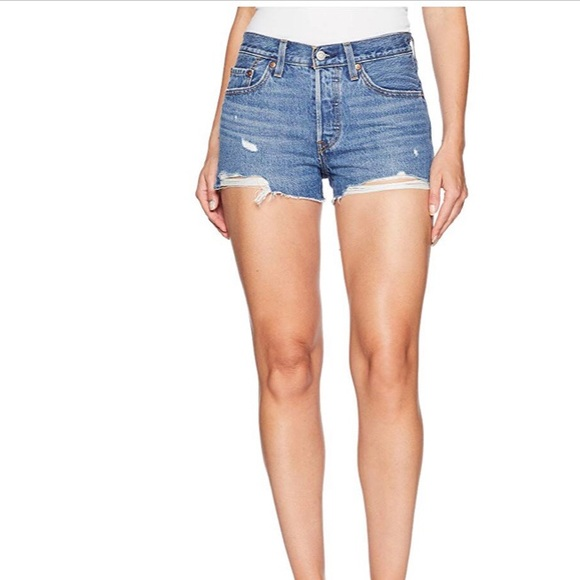 33a3428cad Levi's Shorts | Levis 501 High Rise Short | Poshmark